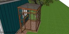 This step by step diy woodworking project is about a catio roof plans. This is PART 2 of the catio where I show you how to build the roof, the doors and the shelves. Woodworking Projects Diy, Woodworking Plans, Outside Cat Enclosure, Cat House Plans, Roof Trim, Wooden Playhouse, Roof Panels, Diy Shed, Catio