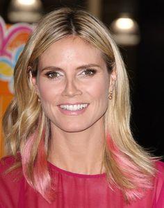 Heidi Klum New Hair Color 2012