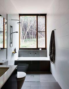 trendy bathroom layout with laundry doors Laundry In Bathroom, Bathroom Renos, Bathroom Interior, Bathroom Ideas, Bathtub Ideas, Compact Bathroom, Bathroom Remodeling, Shower Ideas, Laundry Doors