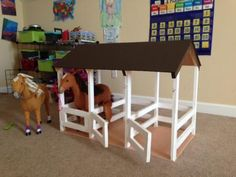 3-Stall Horse Stable