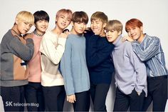 Unreleased Photos of BTS for SKTelecom promotional ads [161228]
