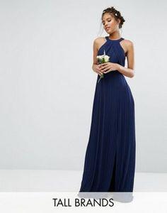 TFNC Tall Wedding Pleated Maxi Dress