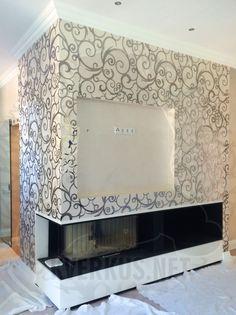 Панно с использованием оргстекла и нержавейки We used plexiglass & stainless steel in this paneling #paneling #lasercut  #interior #interiordesign #plexiglass  #stainlesssteel #лазернаярезка #интерьер  #нержавейка #панно #оргстекло