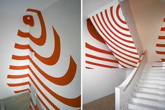 Anamorphic Illusions by Felice Varini | DeMilked