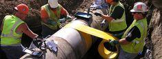 We provide pipelines repair services.