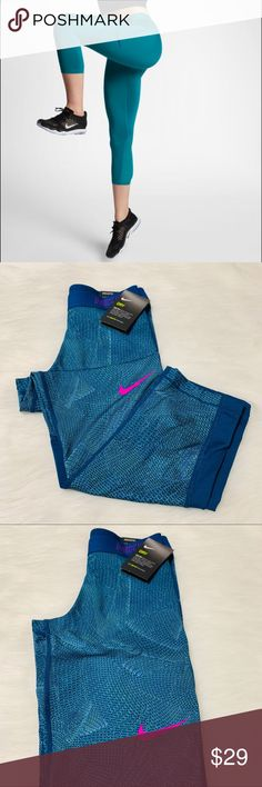 best website 92602 cd804 Nike Victory Baselayer Tight Fit Capri Super cute and super stretchy Nike  Athletic Capri.