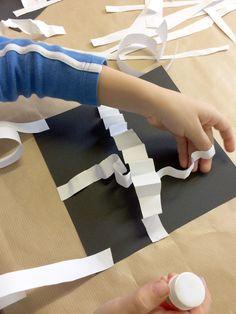 Laboratori Metodo Bruno Munari® e non solo... Carta Collage, Projects For Kids, Art Projects, Preschool Art, Allrecipes, Art Lessons, Montessori, Art For Kids, Mixed Media