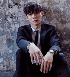 Chen - Singles magazine, March 2017