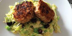 Kyllingedunser  m/lynstegt spidskålsalat