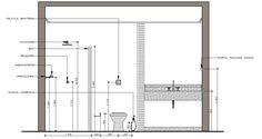 Praticamente indispensável são os tradicionais acessórios para banheiro não é mesmo? Barra para toalhas, argolas, saboneteira. E junto deles há … French Architecture, Architecture Plan, Architecture Details, Bathroom Plans, Small Bathroom, Bathrooms, Exterior Design, Interior And Exterior, Baths Interior
