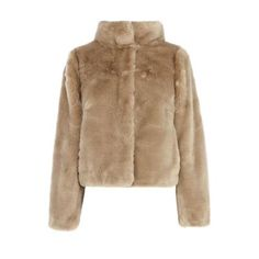 $153, Brown Fur Jacket: Coast Alfine Faux Fur Jacket. Sold by House of Fraser. Click for more info: https://lookastic.com/women/shop_items/106804/redirect