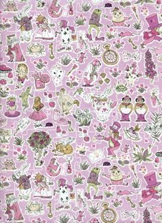 Gallymoggers Reynard - NEW in Store! Patchwork Fabric, Liberty Print, Spring Summer 2015, Alice In Wonderland, Swatch, Lawn, Whimsical, Seasons, Quilts