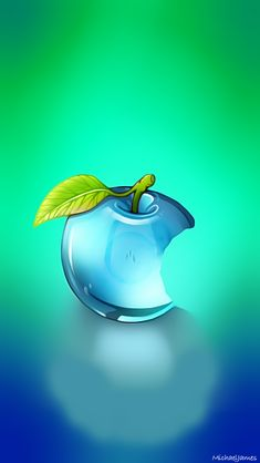 Blue Glass Apple Apple iPhone 5s hd wallpapers available for free download.
