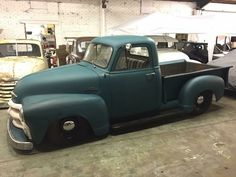 In satin... 55 Chevy Truck, Vintage Chevy Trucks, Chevy Trucks Older, Chevrolet 3100, Antique Trucks, Hot Rod Trucks, Gm Trucks, Cool Trucks, Classic Pickup Trucks