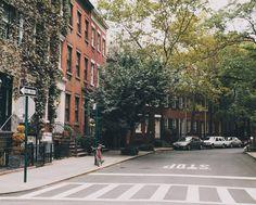 west village picturesque residential street jr028