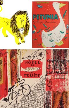 illustrations from childhood books... Gravure Illustration, Children s Book  Illustration, Roger Duvoisin 1afc66e74c20