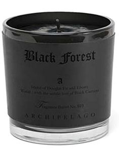 Archipelago Botanicals Black Forest 13 oz Letter Press Candle ❤ Archipelago Botanicals