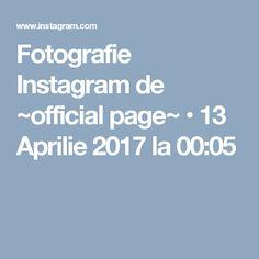 Fotografie Instagram de ~official page~ • 13 Aprilie 2017 la 00:05