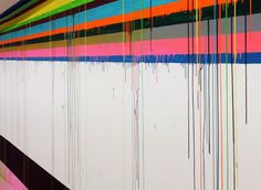 Markus Linnenbrink. Spectacular a fresh driping lines made in a Dusseldorf prison