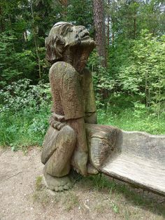 Klaipeda, Lithuania, Curonian Spit, Hill of Witches, Sculpture   Flickr - Photo Sharing!