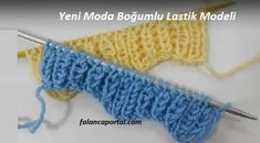 Yeni Moda Boğumlu Lastik Modeli If you are tired of classic rubber knitting, this new model tire can Baby Knitting Patterns, Knitting Videos, Crochet Videos, Knitted Gloves, Knitting Socks, Knitting Stitches, Hand Knitting, Crochet Baby, Knit Crochet