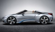 BMW i8 Concept Spyder side