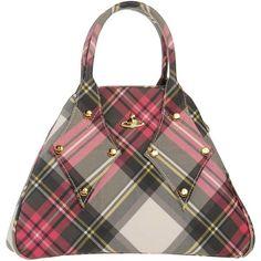 Vivienne Westwood Handbag ($380) ❤ liked on Polyvore featuring bags, handbags, salmon pink, zipper handbag, pink handbags, pink studded purse, pink hand bags and vivienne westwood handbags