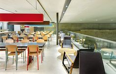 This amazing space is a McDonalds.  Seriously.  Why doesn't my local McDonalds look like this???