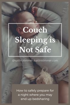 Sleep-deprived parents, out of desperation and sheer exhaustion, end up sleeping with their infants without knowing about how to do it safely. Couch sleeping and chest sleeping are never safe. But parents do this all the time because they don't know how to get more sleep safely. Child Sleep, Kids Sleep, Baby Sleep, Safe Co Sleeping, Sleeping Alone, Stages Of Sleep, Postpartum Depression, Attachment Parenting, How To Get Sleep