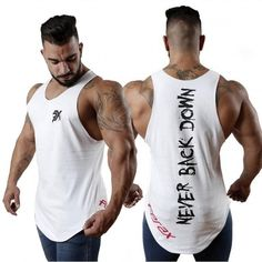 2018 New Men Tank top Gyms Fitness Bodybuilding sleeveless shirt Male Cotton Crossfit clothing Casual Singlet vest Undershirt Mens Fitness, Workout Vest, Workout Tops, Workout Shirts For Men, Crossfit Clothes, Gym Tank Tops, Gym Men, Bodybuilding, Male Fitness