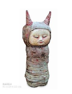 Doll Sculptures by Mariana Monteagudo