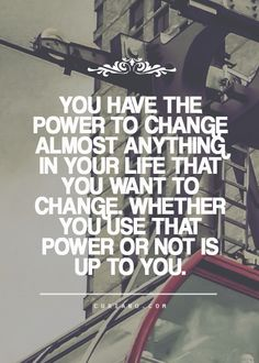 You have the power...