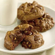 Ghirardelli Baking: Decadence Cookies Recipe