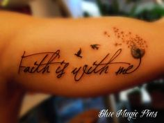 dandelion tattoos quote tattoo for girls-f85769.jpg 500×375 pixels
