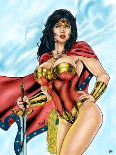 Wonder Woman by PsychedelicHeroin
