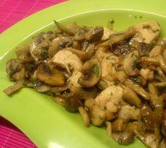 Κοτόπουλο με μανιτάρια έτοιμο 2