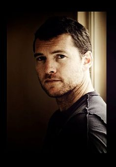 Sam Worthington. We're watching terminator and I just remembered how manly he is. Hubba hubba.