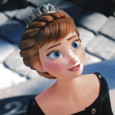 Anna queen of Arendelle Frozen 2 finale Anna Disney, Disney Princess Frozen, Cute Disney, Disney Art, Ana Frozen, Frozen Movie, Frozen Two, Disney Princess Pictures, Disney Pictures