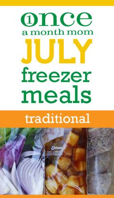 Once a month mom - she posts monthly menus and the shopping list plus recipes for freeze meals that last you the entire month. Amazing!!!