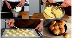 Take a cue from this STEP-by-STEP recipe for  Gougères HERE!!!