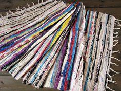 RAG RUG Swedish large long vintage Rug Striped Woven multicolor Rug Handmade Cotton Carpet Scandinavian Rug Cottage Floor Runner mat#T872 by VintageButikGita on Etsy https://www.etsy.com/nz/listing/268957358/rag-rug-swedish-large-long-vintage-rug
