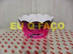 Limousine Rosa - Brindes e Lembrancinhas: Saia de Cupcake Limousine Rosa