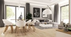 Images found for inquiries modern dining room and living room Open Plan Kitchen Living Room, Living Room Tv, Home And Living, Dining Room, Dining Table, Home Building Design, Home Room Design, Living Room Designs, Best Interior Design