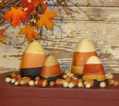 country primitive fall decor | ... Sitters,Candycorn Decorations,Halloween Decor,Candy Corn Bowl Filler