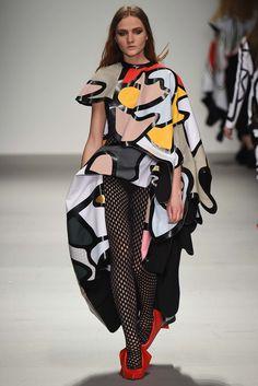 Central Saint Martins Fall 2015 Ready-to-Wear Fashion Show - Designer: Matty Bovan–