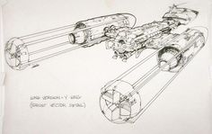 Star Wars - Long Version Y-Wing ✤ || CHARACTER DESIGN REFERENCES | キャラクターデザイン |  • Find more at https://www.facebook.com/CharacterDesignReferences & http://www.pinterest.com/characterdesigh and learn how to draw: concept art, bandes dessinées, dessin animé, çizgi film #animation #banda #desenhada #toons #manga #BD #historieta #strip #settei #fumetti #anime #cartoni #animati #comics #cartoon from the art of Disney, Pixar, Studio Ghibli and more || ✤