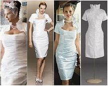 wedding gowns for mature bride