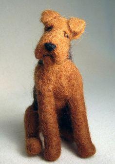Wooliedales Sample Poses; needle felted wool sculptures; woolydales; usher