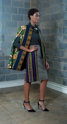 Ankara Cape Jacket. Cape jacket features a slip through opening for arms, it can be worn separately over dresses, skirts, jumpsuits, etc. Fully lined and made from 100% African print cotton. (affiliate)