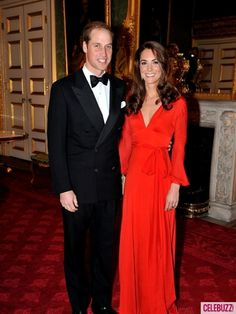 Prince William and Catherine, The Duke and Duchess of Cambridge, attend a black tie charity dinner at St James's Palace held by the charity '100 Women in Hedge Funds' on October 13, 2011 in London, England